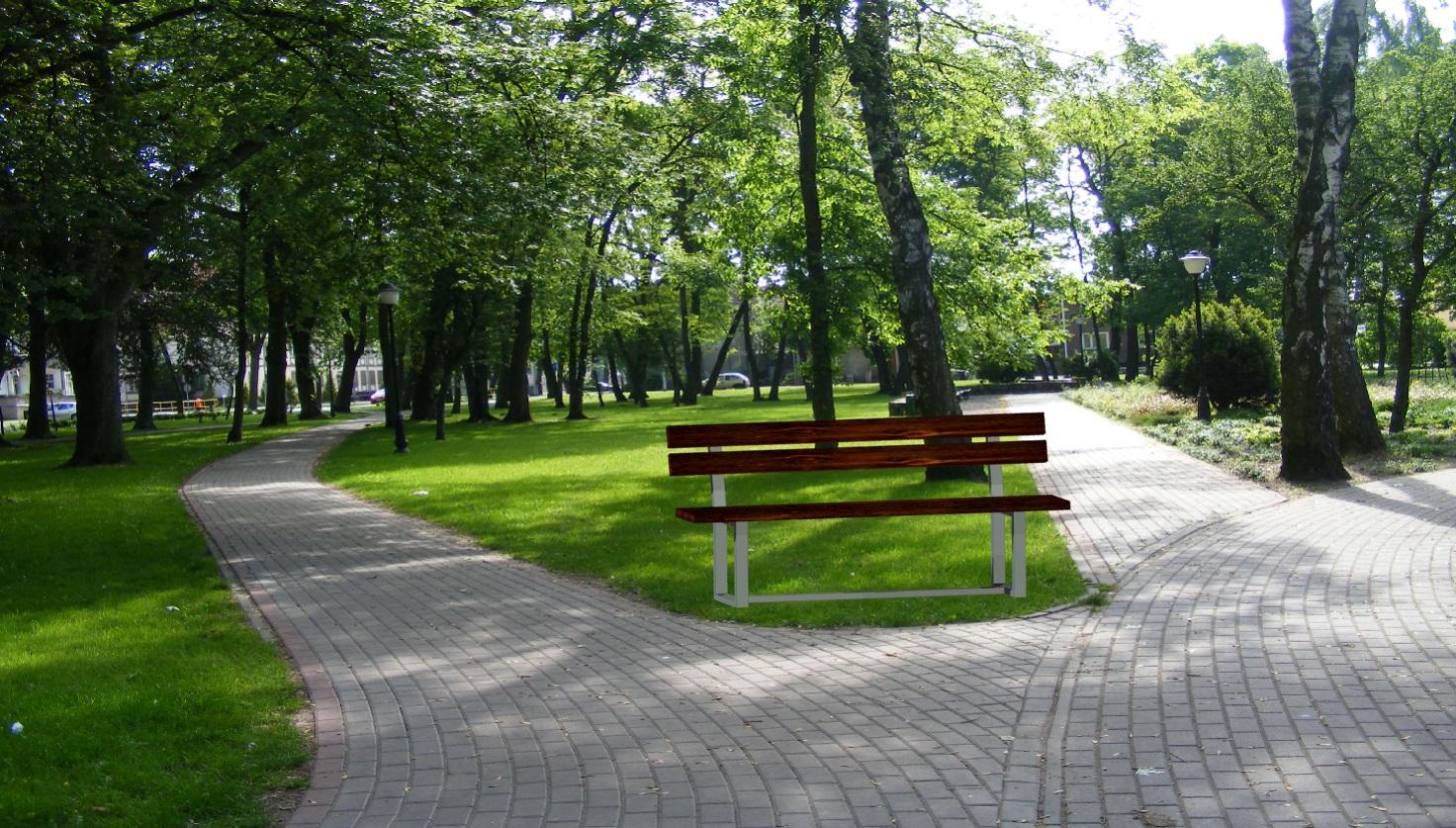 park - ławka